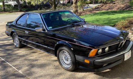 One Owner E24: 1986 BMW 635CSI – Sold?