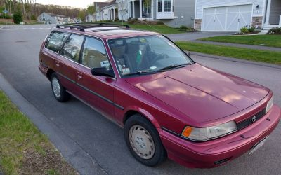 Hard to Find Longroof: 1991 Toyota Camry DX Wagon – $4,900