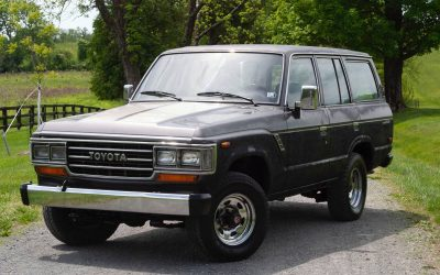 Cost of Entry Project: 1988 Toyota Land Cruiser – $14,500