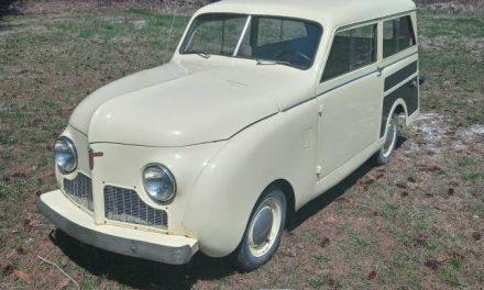 1948 Crosley Station Wagon – Sold?