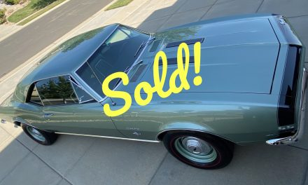 1967 Chevrolet Camaro SS350 – SOLD AT $45,000