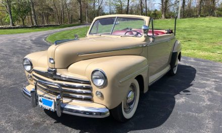 Karate Kid – 1947 Ford Convertible – Sold?