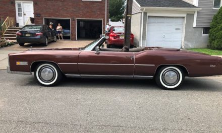 Brown Beauty: 1975 Cadillac Eldorado Convertible – $16,500