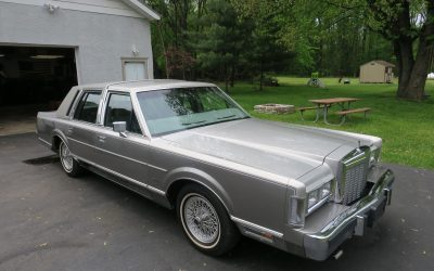 21K-Miles: 1986 Lincoln Town Car Cartier Edition – SOLD FOR $10,500!