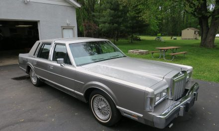 21K-Miles: 1986 Lincoln Town Car Cartier Edition