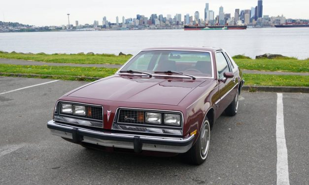 NEW! Award 72: 17K Mile 1976 Pontiac Sunbird – $29,000