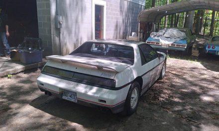 1984 Pontiac Fiero Indy 500 Pace Car Replica – Sold?