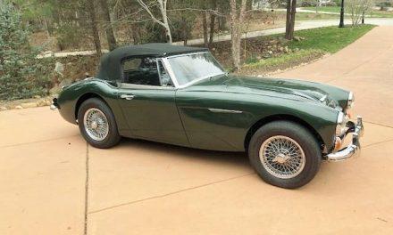 1967 Austin Healey 3000 MkIII – Sold?