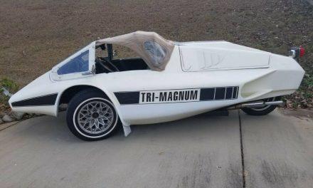 Teenage Hero: 1981 Tri-Magnum Kit Car – $5,500