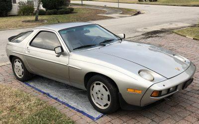 No Reserve: 1981 Porsche 928 Project