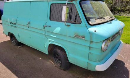 Late Breaking: 1964 Chevrolet Corvair Van Project – SOLD!