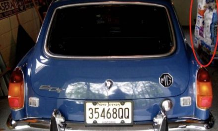 Toilet Paper Tell-All: 1972 MGB GT – SOLD!