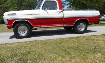 Candy Cane: 1970 Ford F100 Ranger XLT – SOLD!