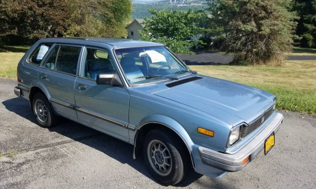 0.5 Million Miles? 1983 Honda Civic Wagon – STILL $5,000