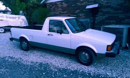 1982 Volkswagen Mk1 Rabbit Caddy Diesel – Sold?