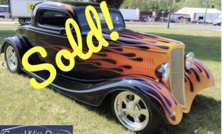 1933 Ford Street Rod – SOLD For $33,500!
