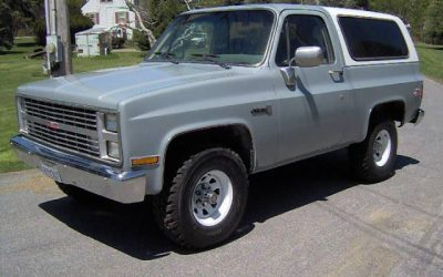 Compressor Challenged: 1985 GMC Jimmy Sierra Classic – $14,900