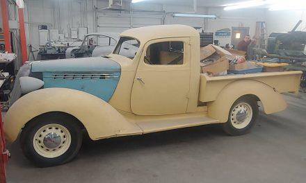 NEW! Award 71: 1936 Hudson Terraplane Pickup Project – Sold?