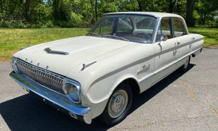 Sorted Simplicity: 1962 Ford Falcon Sedan – $6,900 OBO