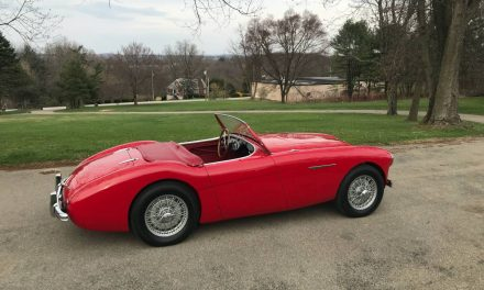Real Red: 1954 Austin Healey 100-4 BN1 – Sold?