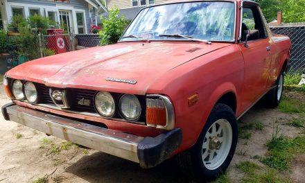 1978 Subaru BRAT Project – SOLD!