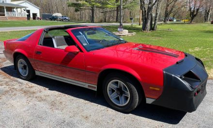 One Family Owned: 1984 Chevrolet Camaro Z/28 H.O. – Sold?
