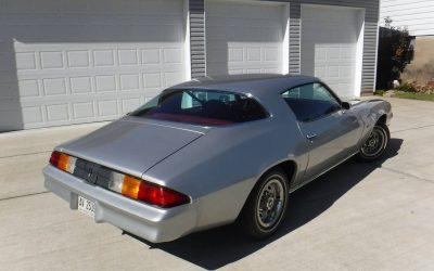 Original Owner: 1979 Camaro Base – $19,000