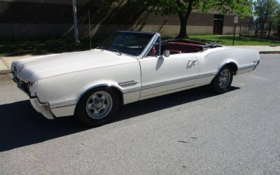 Rationalized Ragtop: 1966 Oldsmobile 442 Convertible – $18,000