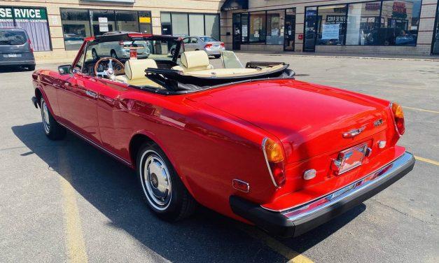 NEW! Award 74: 1978 Rolls Royce Corniche I Drophead Coupe – Sold?