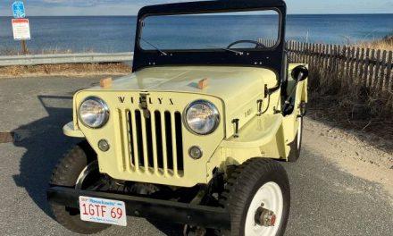 Hero Shots: 1955 Willys Jeep CJ 3B – $17,500