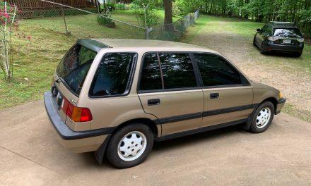 Pre-CRV: 1989 Honda Civic RT4WD Wagon – SOLD!