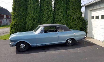 Second Season: 1963 Chevrolet Nova SS Convertible – $21,000