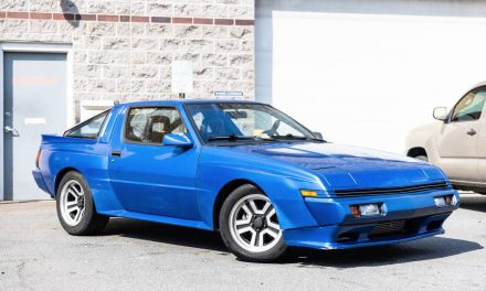 NOS Equipped: 1989 Chrysler Conquest TSI – Sold?