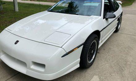 Final Year Build: 1988 Pontiac Fiero GT – SOLD!
