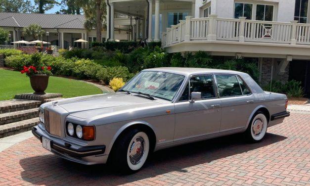 Linen Suit Optional: 1990 Bentley Turbo R – $19,500
