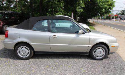 2001 Volkswagen Cabrio GLS 5-Speed