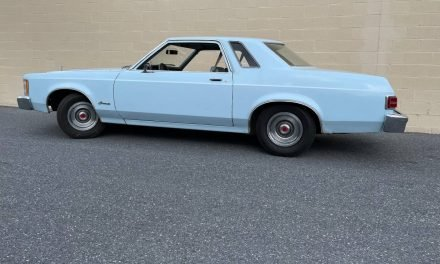 Stripper Sedan: 1976 Ford Granada – SOLD!
