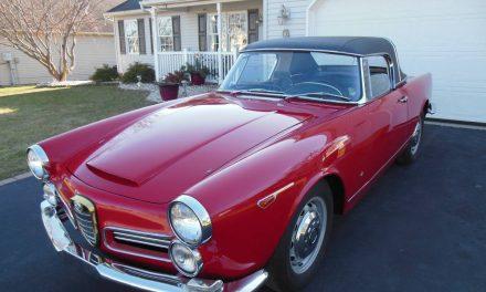1965 Alfa Romeo 2600 Spider Roadster – Sold?