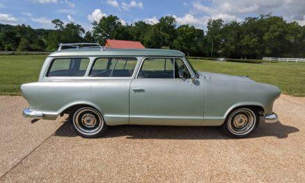 Color Change: 1960 Rambler American Custom Deluxe Wagon – $14,500 OBO