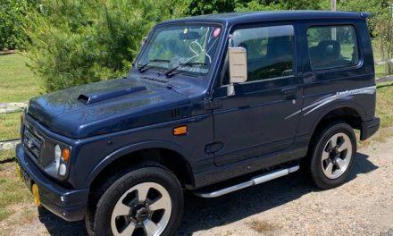 JDM Samurai: 1996 Suzuki Jimny 4×4 Hardtop – Sold?