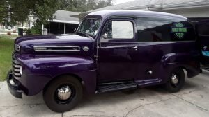 1950 Ford F-1 Panel Delivery