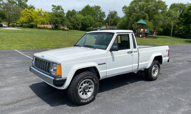 Solid Survivor: 1988 Jeep MJ Comanche 4×4 Pickup – $7,500