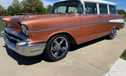 1957 Chevrolet Bel Air Station Wagon – SOLD!