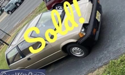 1985 Honda Civic DX – SOLD for $500!