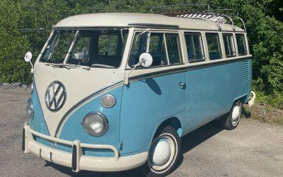 Brazilian Bus: 1973 Volkswagen Type 2 Kombi – $25,000