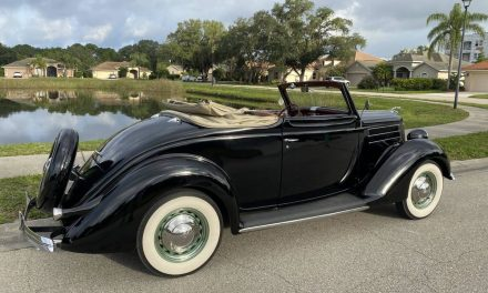 1936 Ford Model 68 Club Cabriolet – Sold?