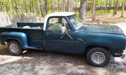 Old Soul: 1980 Dodge D150 Utiline Pickup – $5,500