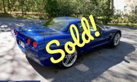 3,863 Miles: 2003 Corvette Z06 50th Anniversary – SOLD For $30,100!
