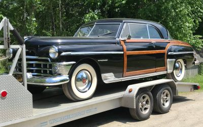 Last Woodie: 1950 Chrysler Town & Country Newport Hardtop – STILL $22,500