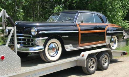 Last Woodie: 1950 Chrysler Town & Country Newport Hardtop – $22,500